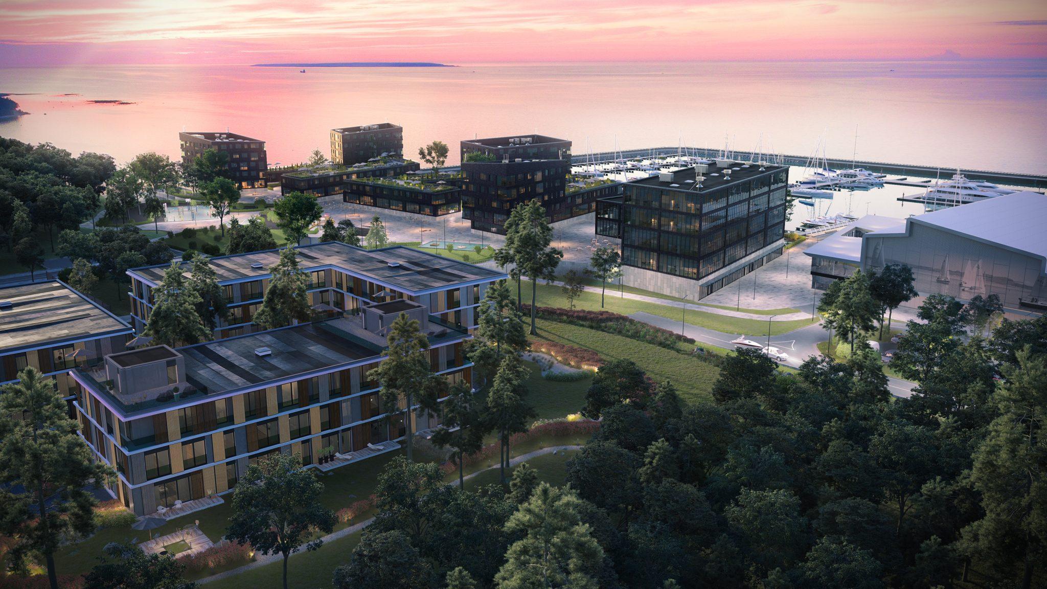 Haven Kakumäe Residentsi kortereid vahendab Sotheby's