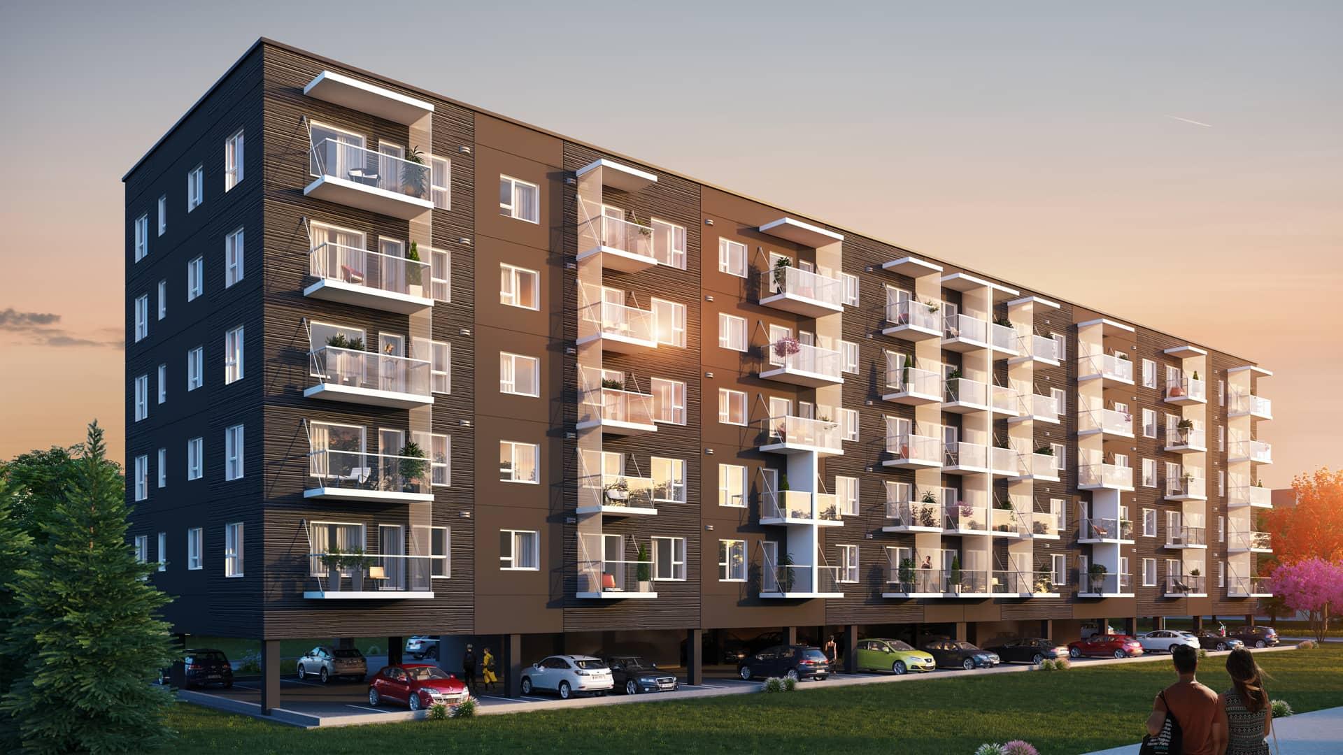 YIT alustab Tammsaare teel uue korterelamu ehitamist