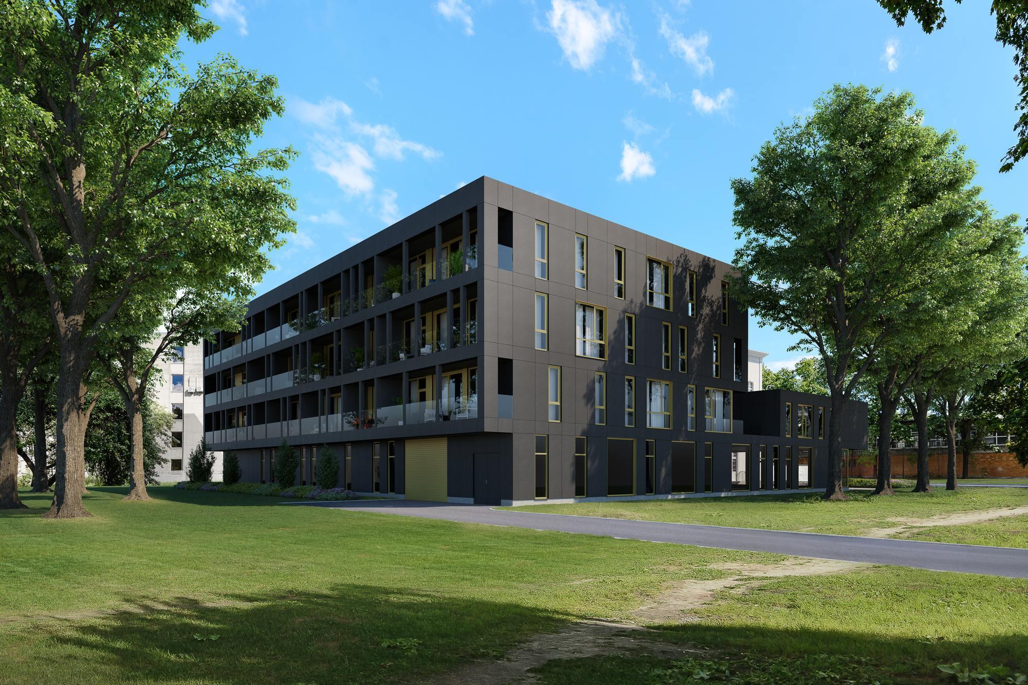 LVM Kinnisvara alustas uue korterelamu eelmüüki Pärnu südalinnas
