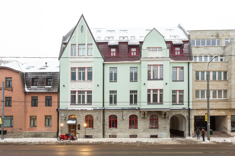 Tallinna Ülikooli vastas valmis uhke üürimaja
