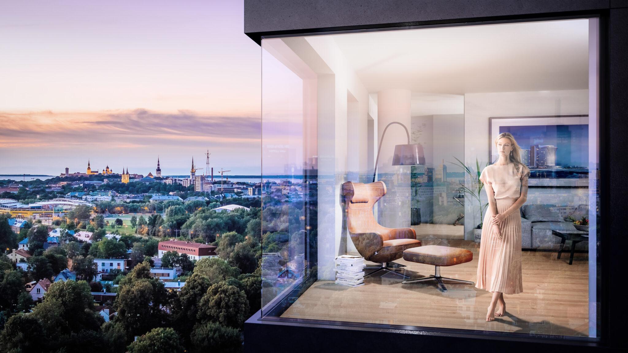 Endover tõi müüki Eesti suurima ja kalleima luksuskorteri