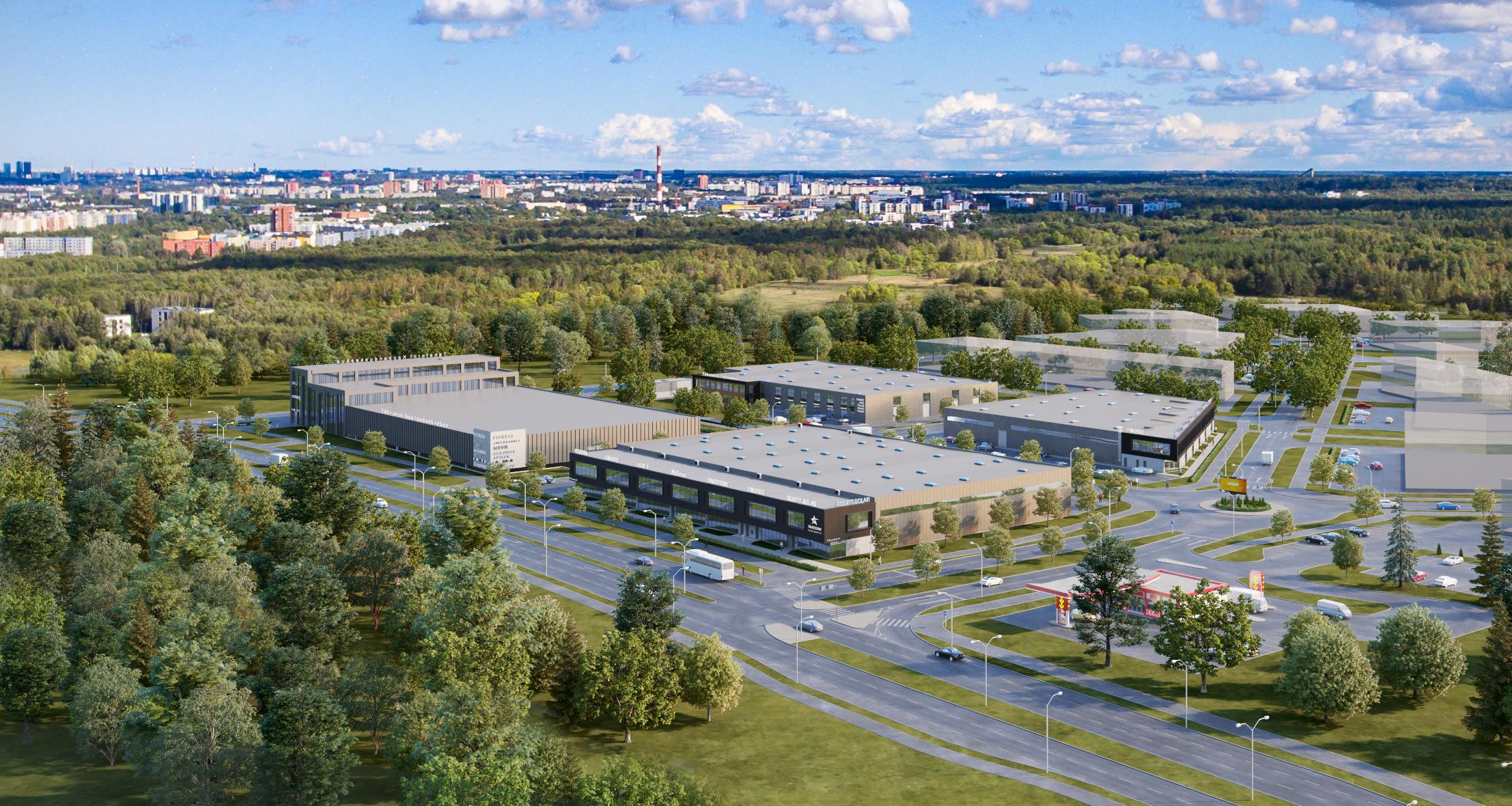 Lääne-Tallinna esimesse tehnoparki kerkib 60 tuhat ruutmeetrit äripinda