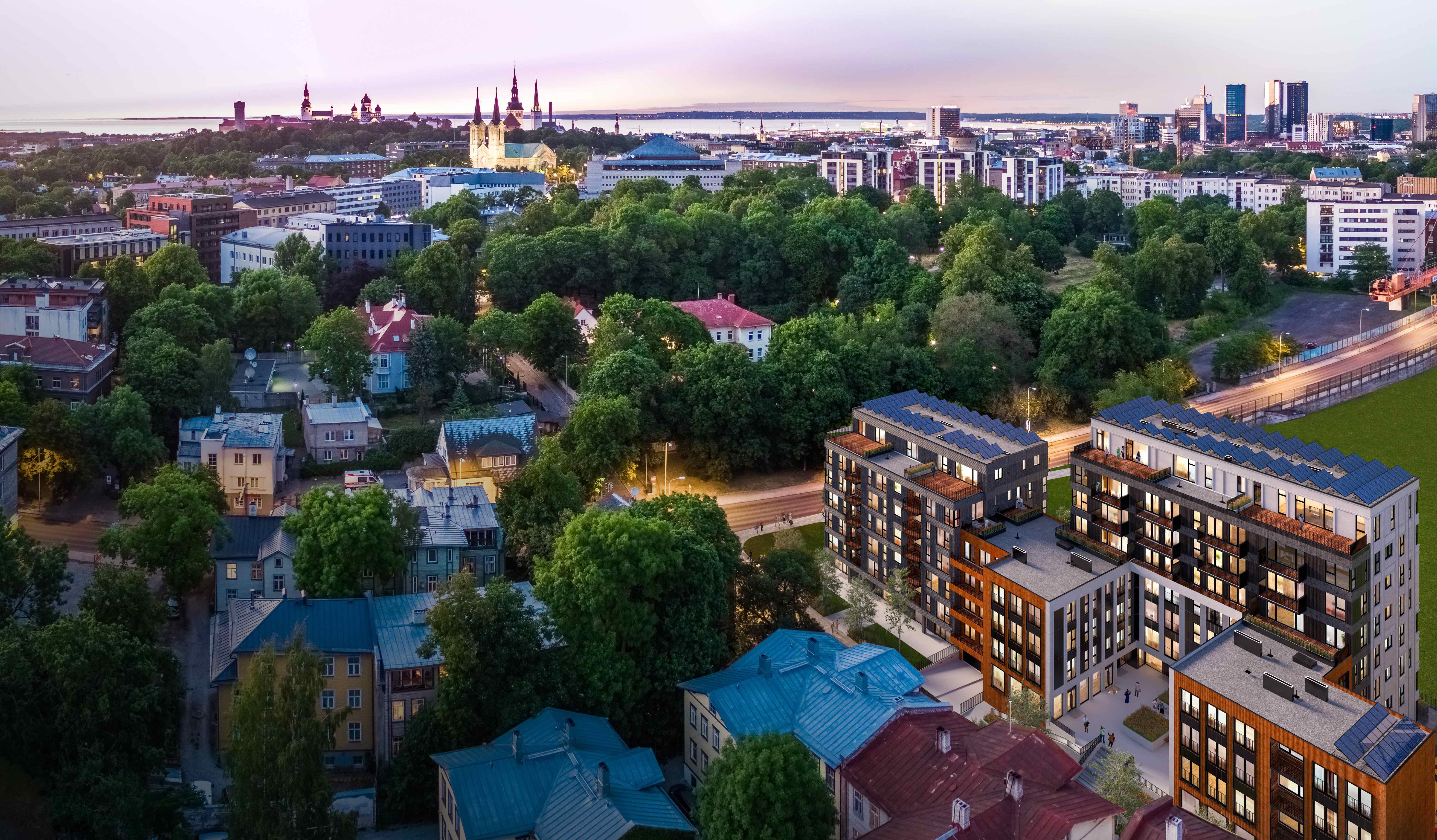 Metro Capital pani nurgakivi Uues Maailmas asuvale Toom-Kuninga 15 korterelamule