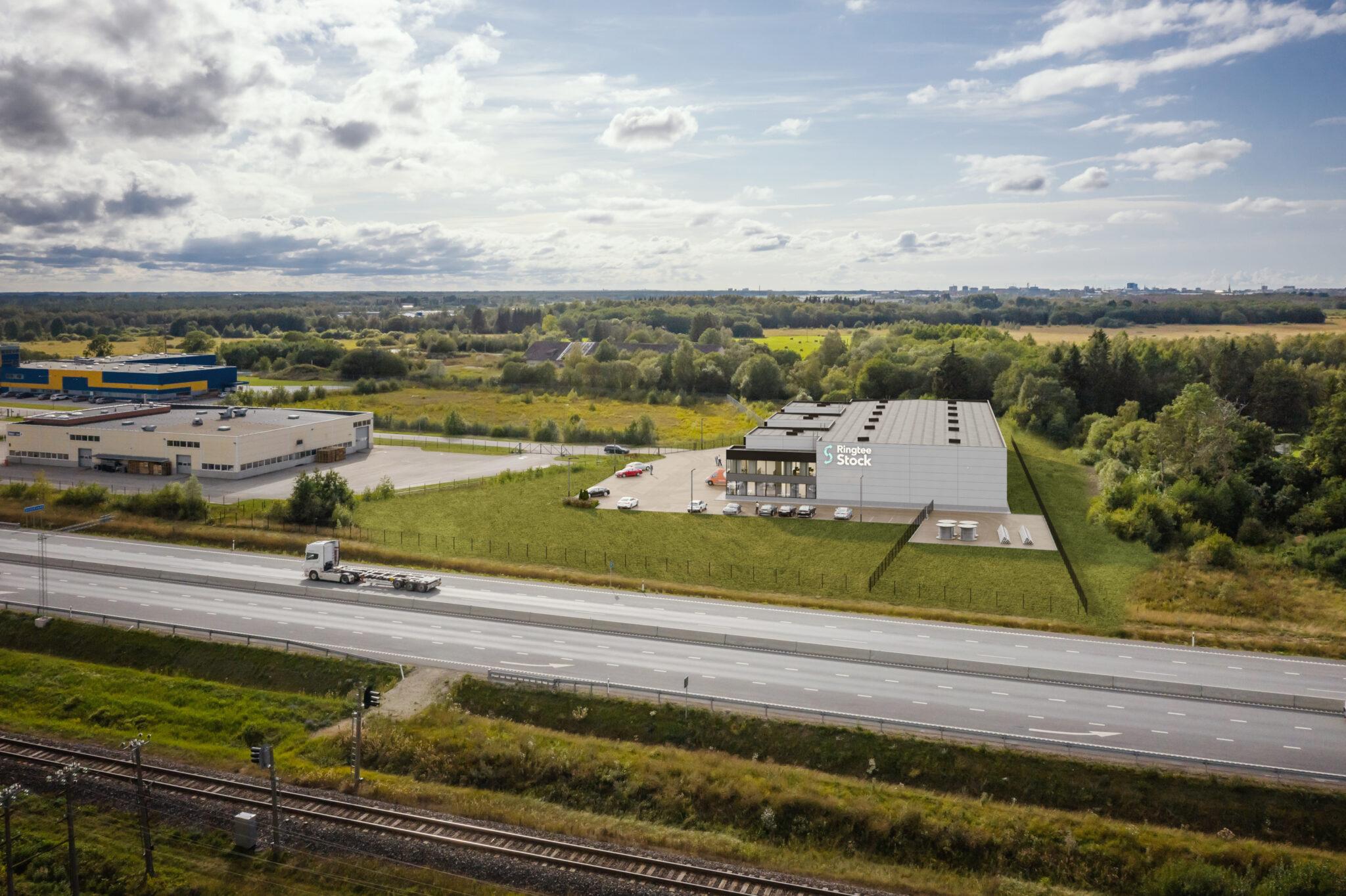 Rail Balticu ootuses kerkivad äri- ja tootmispinnad tulevasele trassile juba täna