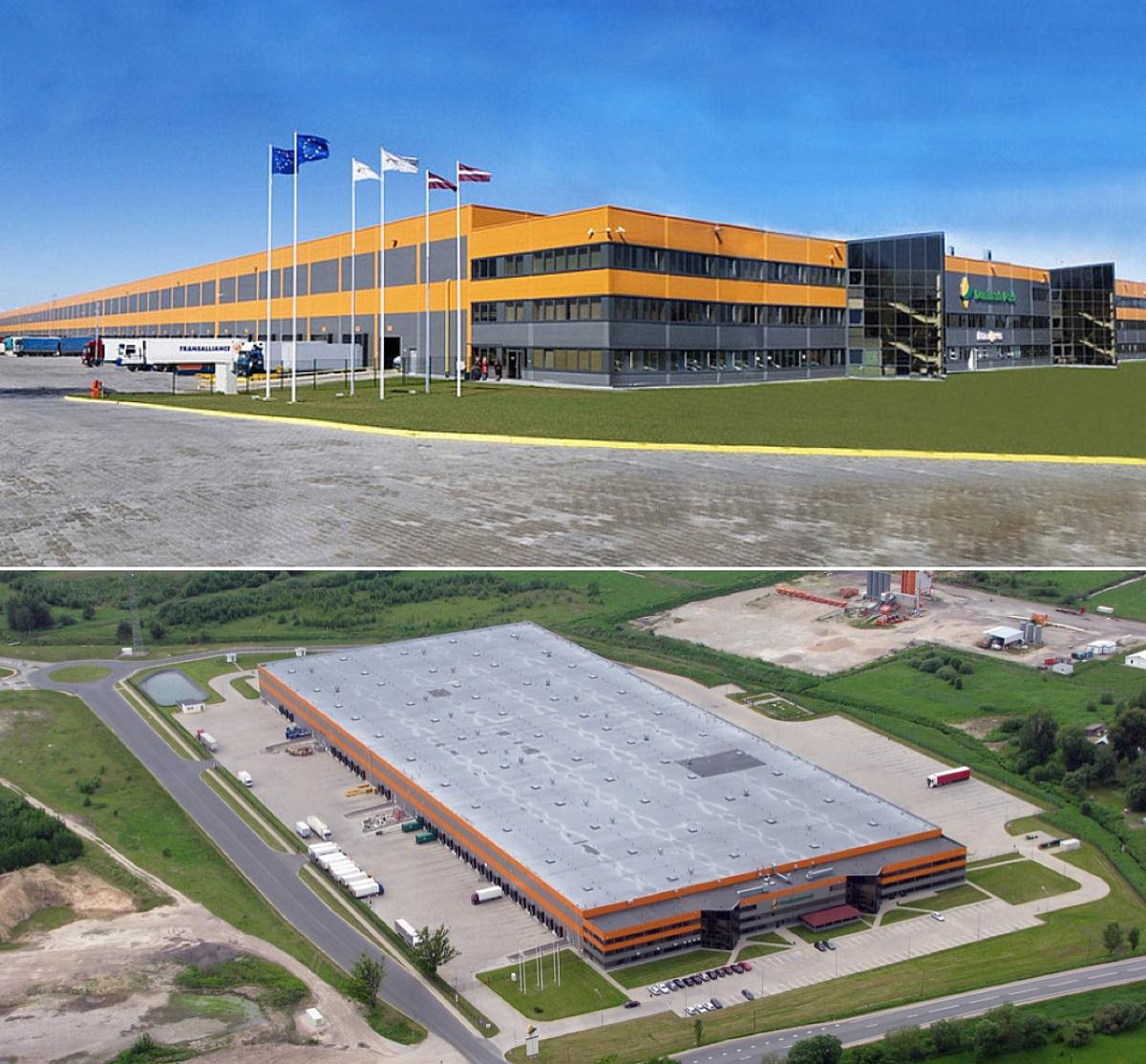 EfTEN Real Estate Fund 4 ostis Riia lähedal logistikahoone