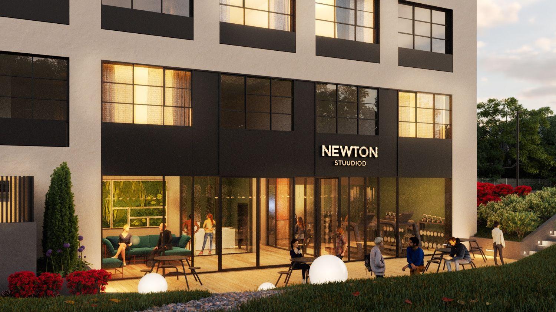 NEWTON – Eesti esimeneco-livingkontseptsiooniga üürimaja
