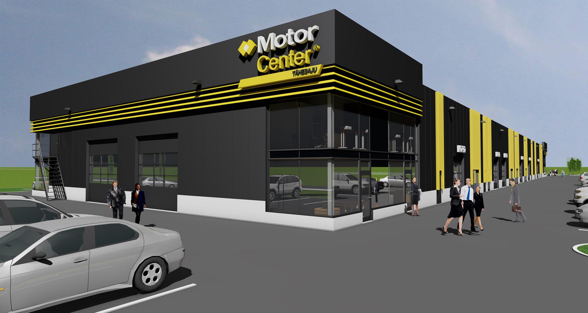 Lasnamäel algab MotorCenter Tähesaju ehitus