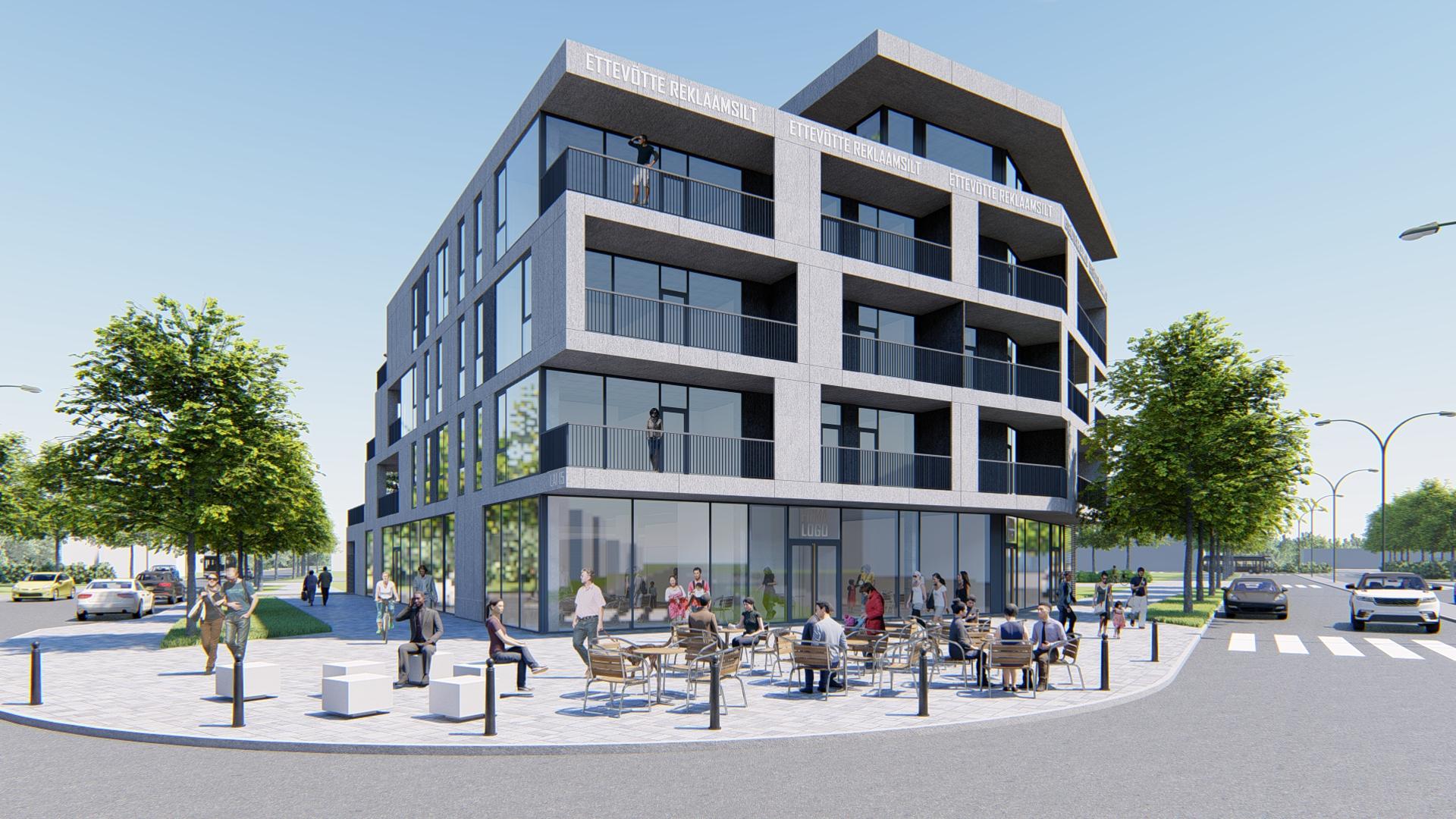 Pärnu Lai 15 uus hoone sai nurgakivi