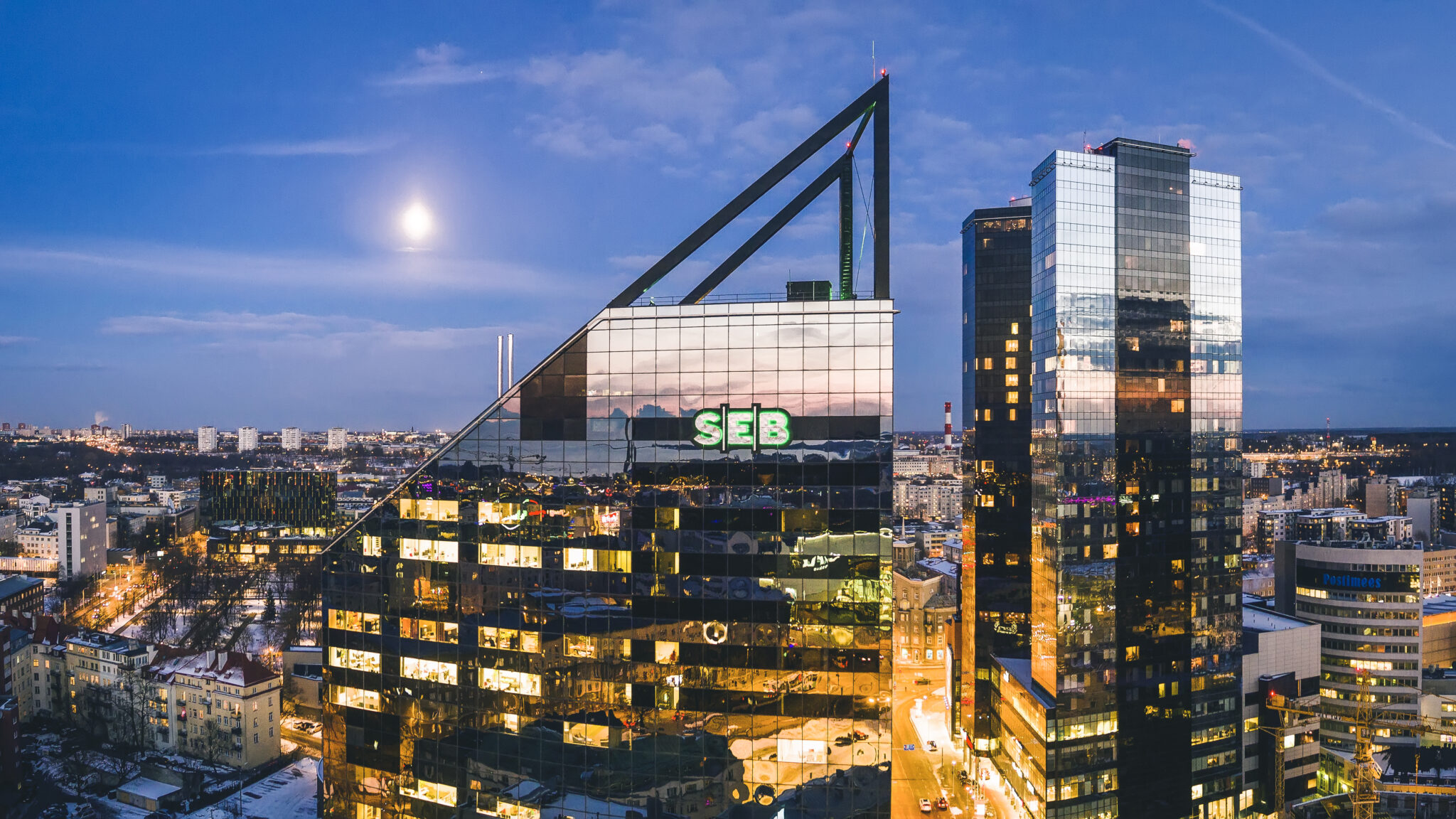 East Capitali uus kinnisvarafond ostis SEB peahoone