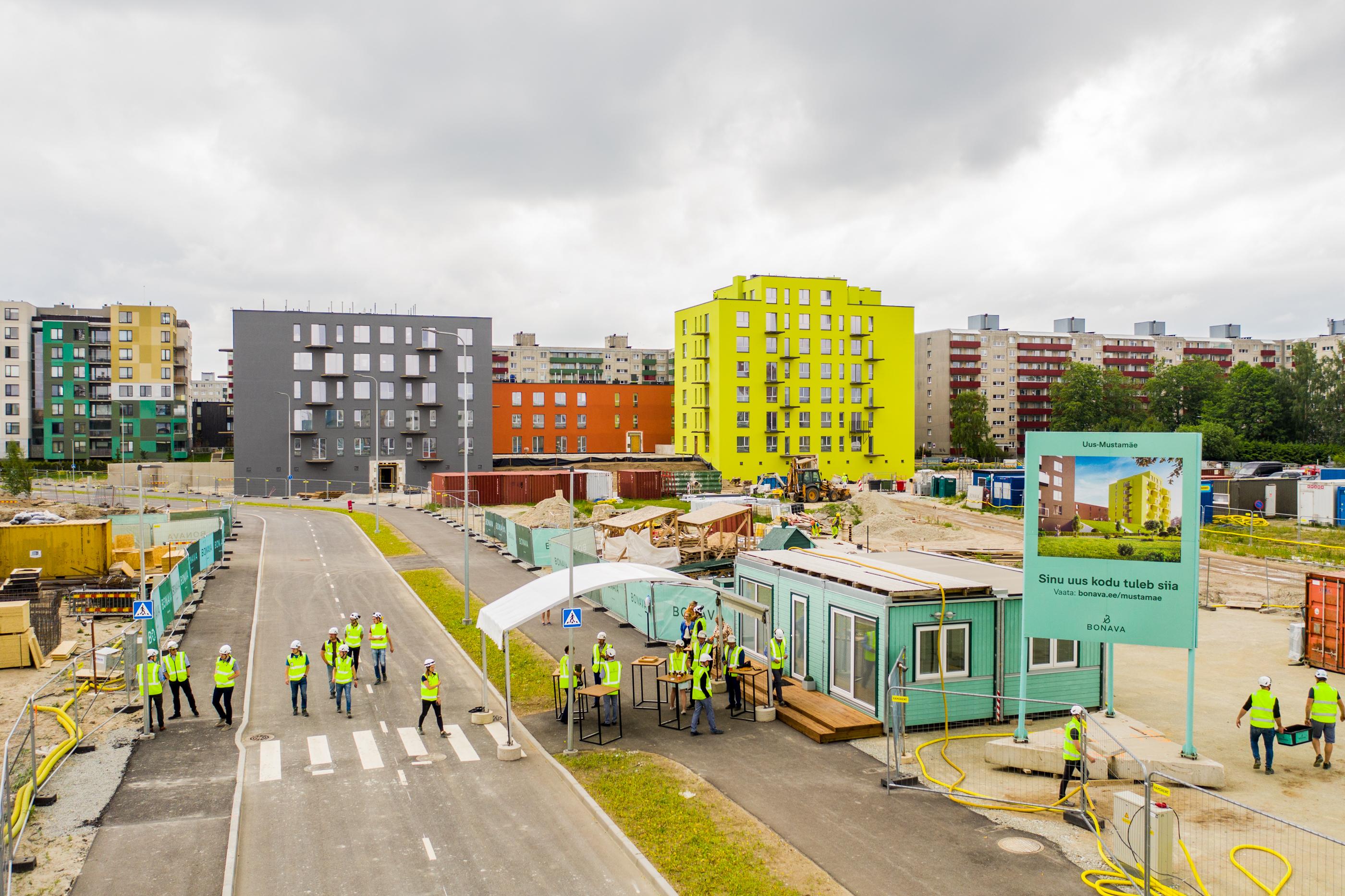 Tallinna suurima uusarenduse ehitus jätkub täiskäigul – Bonava pani Uus-Mustamäel III etapi nurgakivi