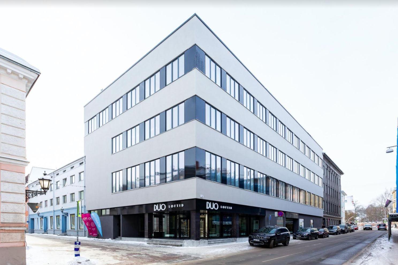 Galerii: Tartu luksuslikem kortermaja DUO Loftid avas uksed  Endisest Tartu sidejaamast sai suurlinlik loftidega elumaja