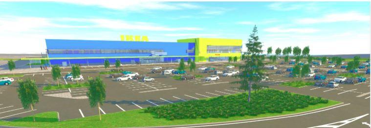 IKEA ja Nordecon sõlmisid lepingu Eestisse IKEA kaupluse ehitamiseks