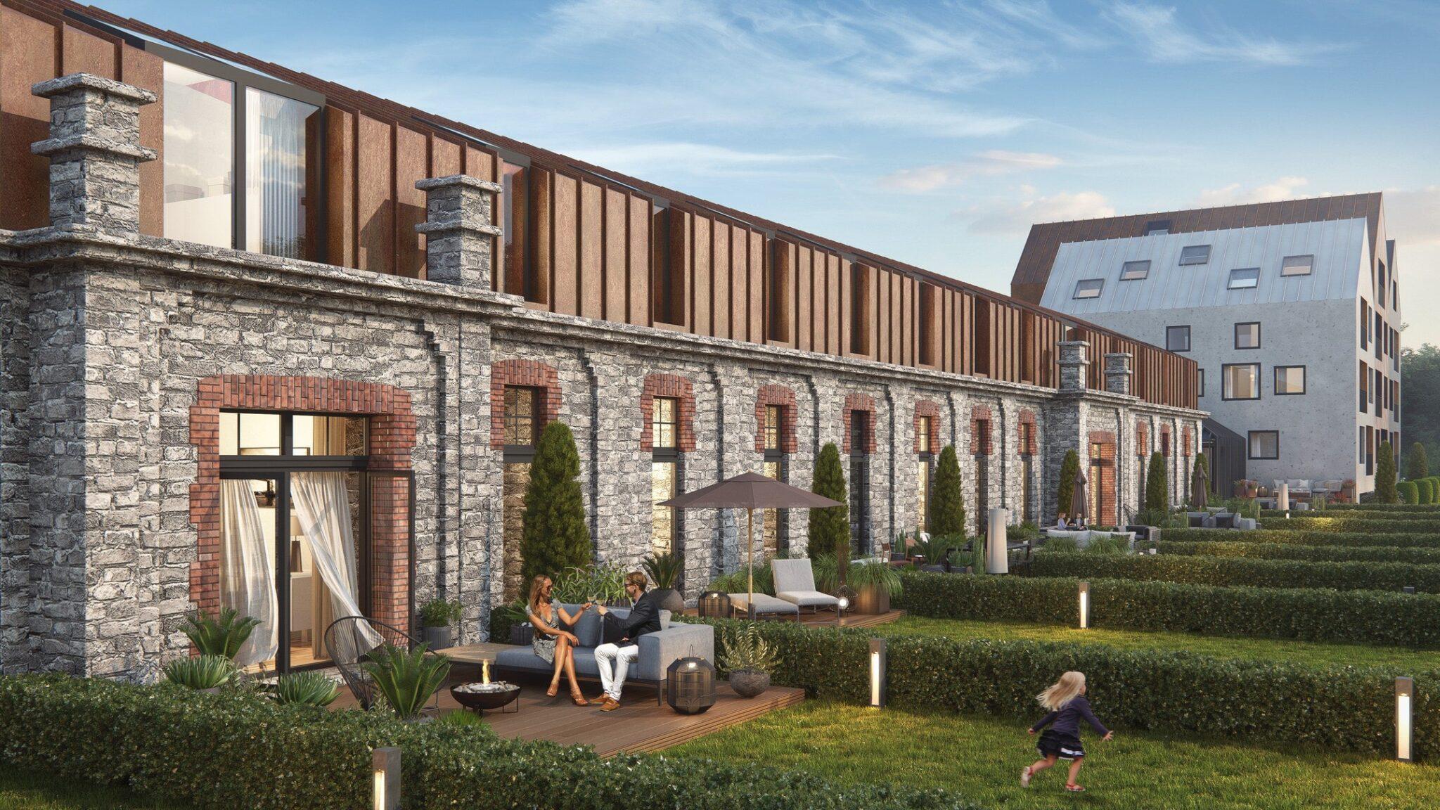 Pro Kapitali Ratsuri Majade arendusprojekt müüdi välja enne ehituse lõppu