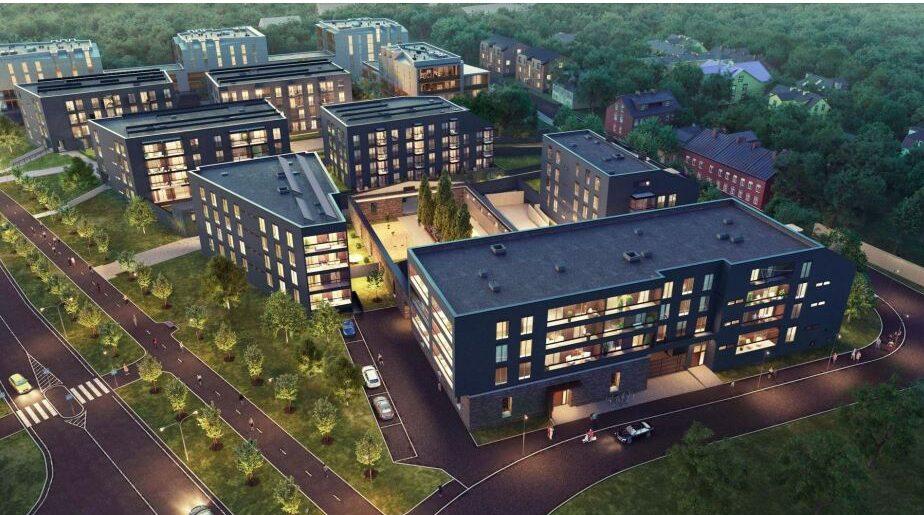 Lennusadamasse kerkib kolm uut elumaja