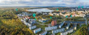 Järveotsa kodud / Foto: Kaupo Kalda aerofoto