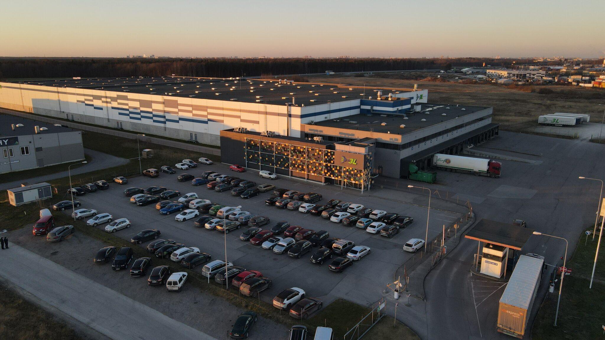 East Capital Real Estate omandab Rae vallas asuva 33000 ruutmeetriseVia 3L logistikakompleksi