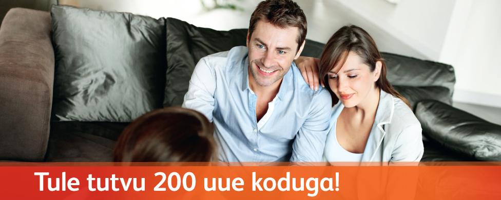 Pressiteade: LVM Kinnisvara korraldab Pärnus tutvumispäeva 200 uuele kodule