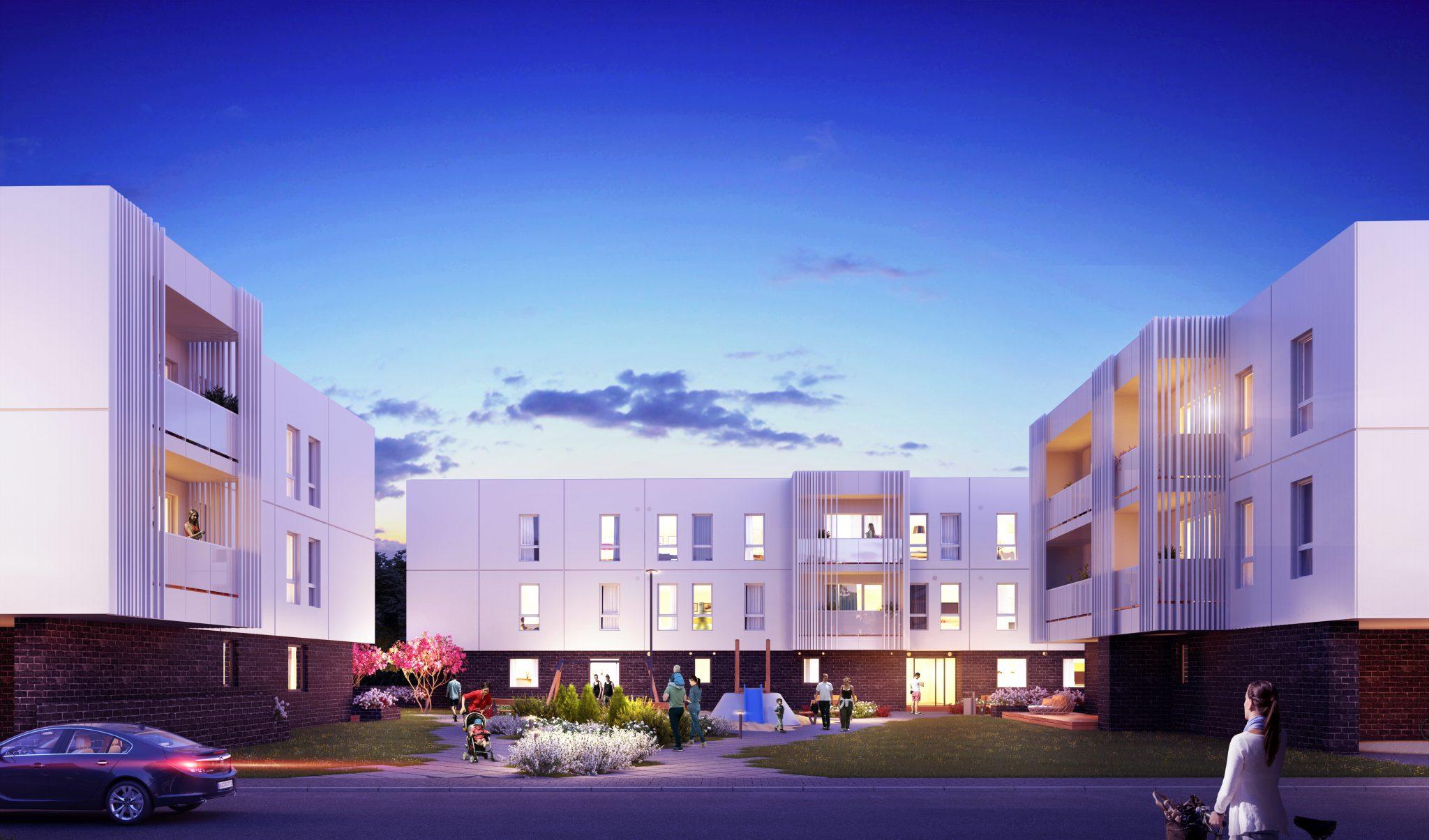 YIT Ehitus alustas Kristiines Algi tänaval kortermajade ehitust