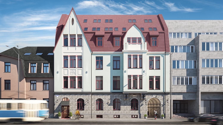 Scandium Kinnisvara loob Narva maanteele uhke kortermaja