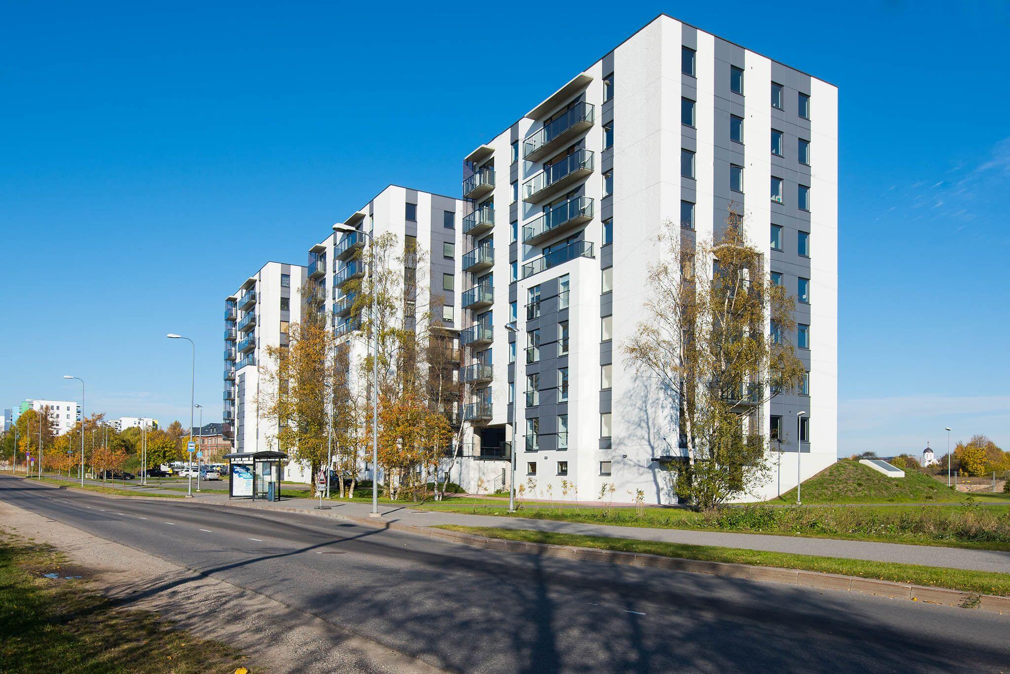Jätkuvalt Tallinna suurima arenguvõimega kinnisvaraturu piirkond saab uue kortermaja.