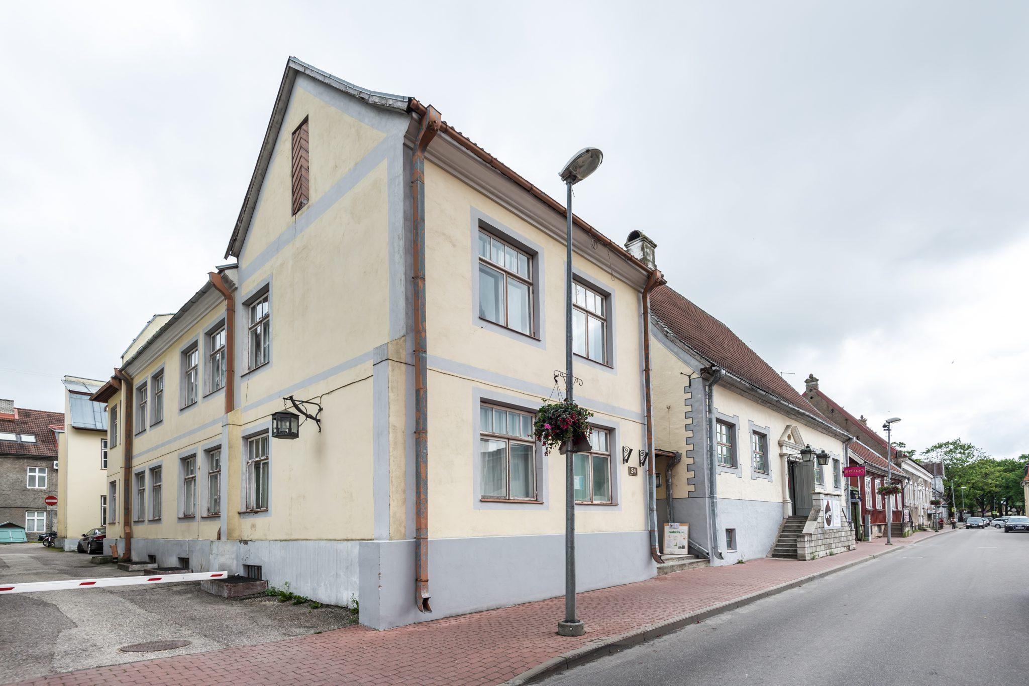 Pressiteade: Pärnu vanalinnas algas unikaalse Kuninga Residentsi ehitus