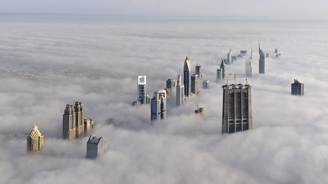 Dubai-a-view-from-the-skyscraper-BurjKhalifa