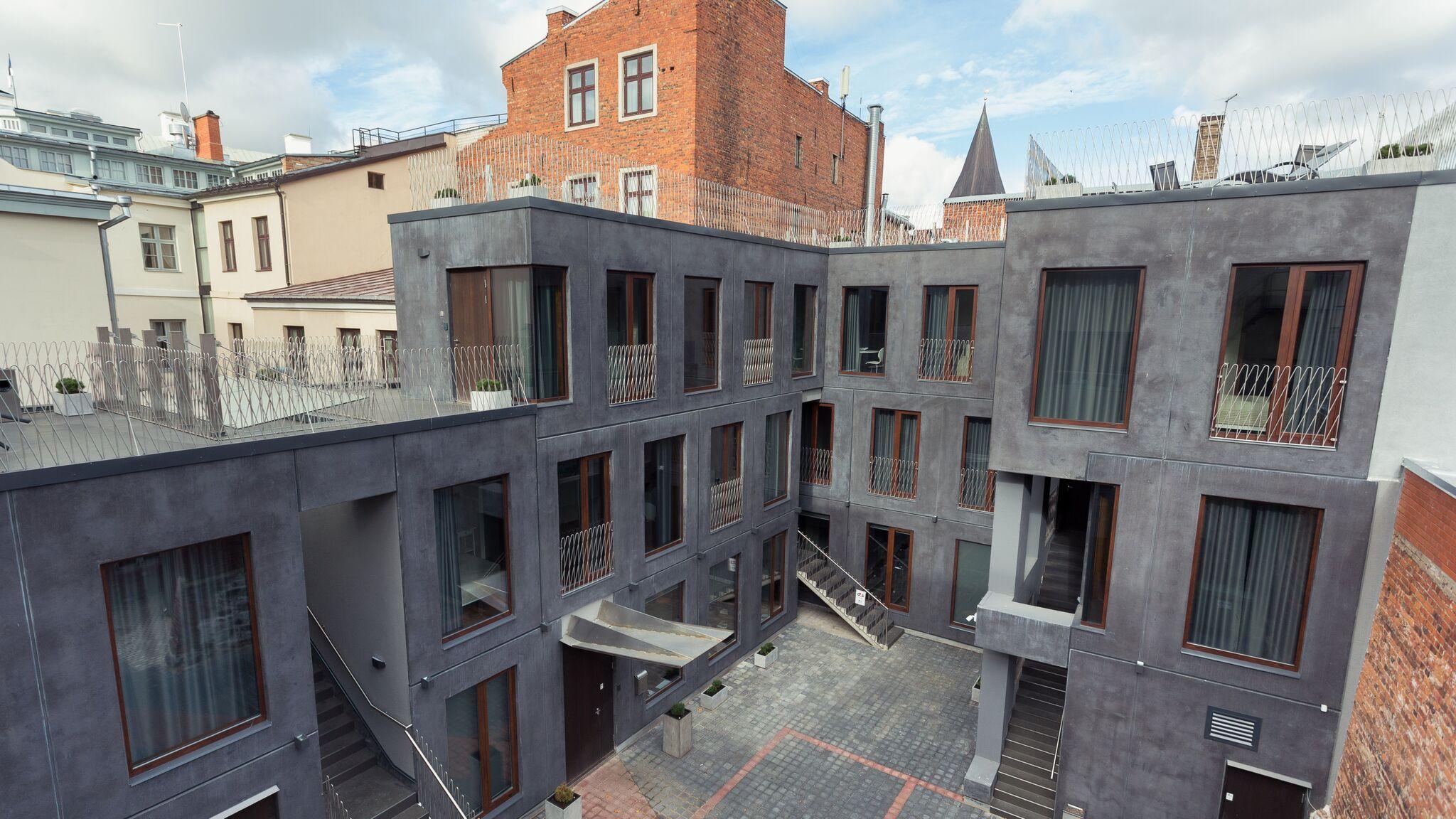 Väärikas uusarhitektuur toob vanalinna tänapäeva