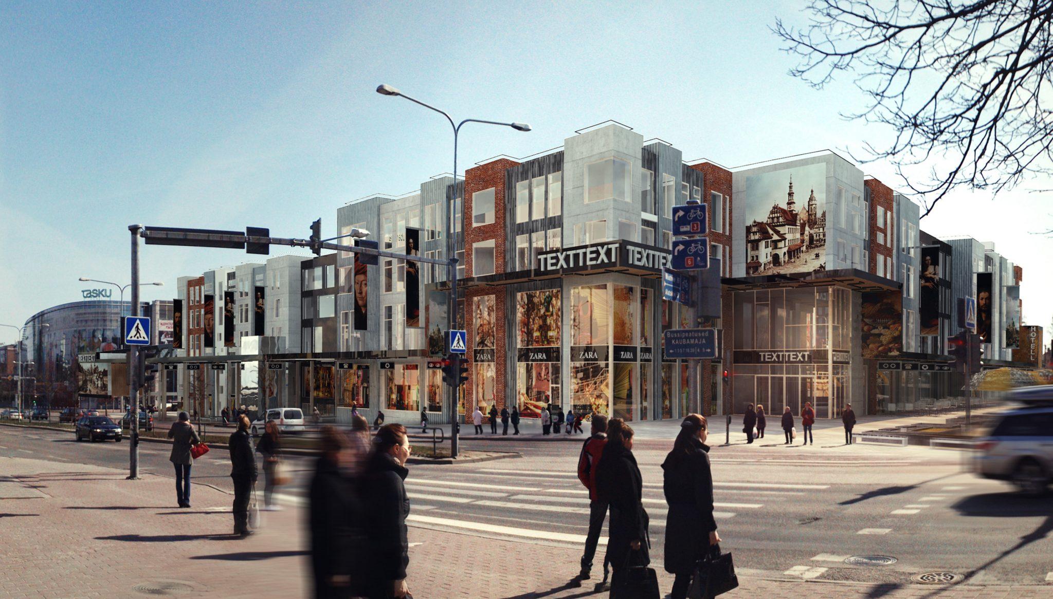 Pressiteade: Tartu südalinnas avab uksed uus kaubandus- ja vabaajakeskus Kvartal