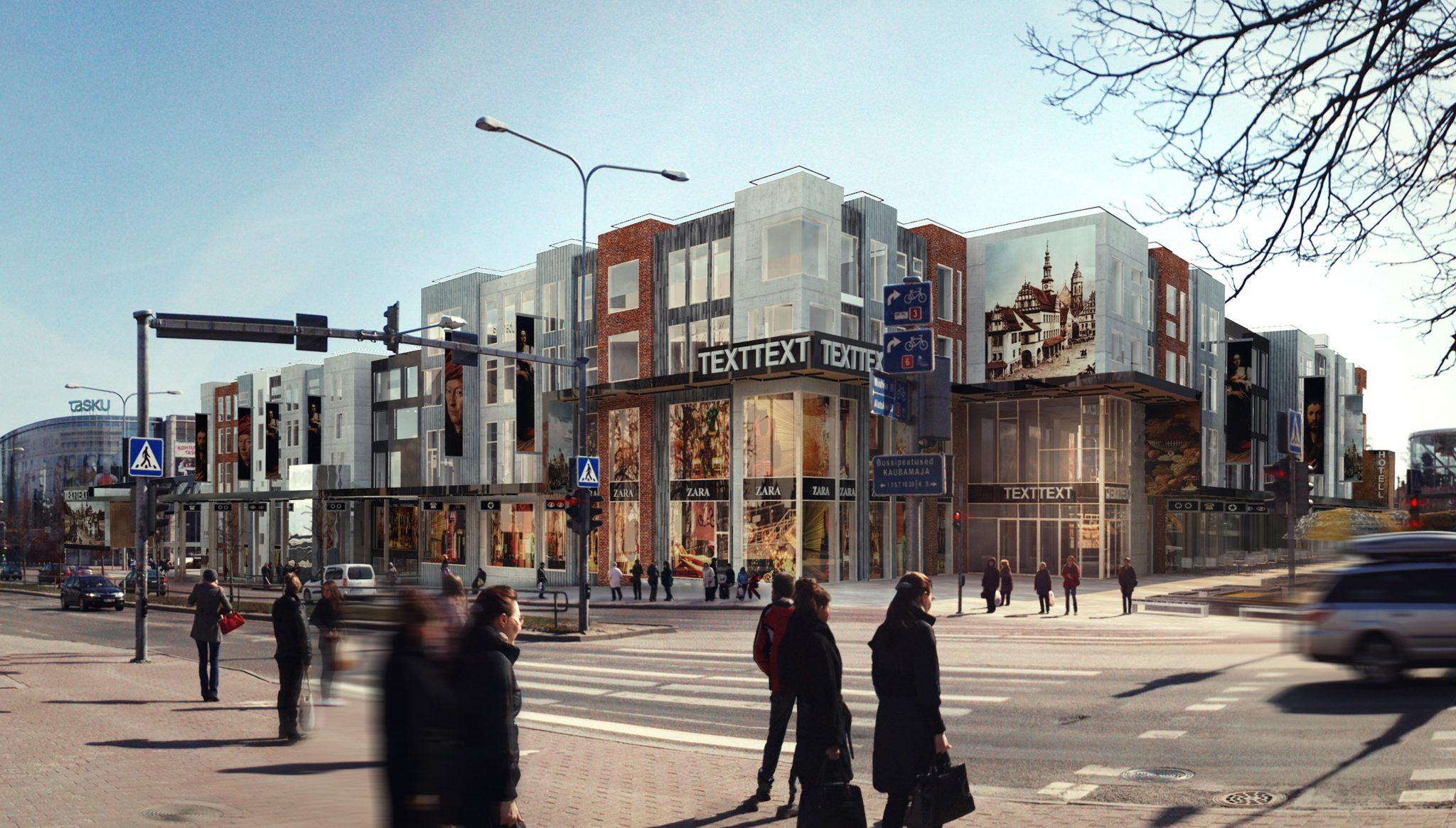 Pressiteade: Tartu kesklinna uus äri- ja vabaajakeskus saab nimeks Kvartal