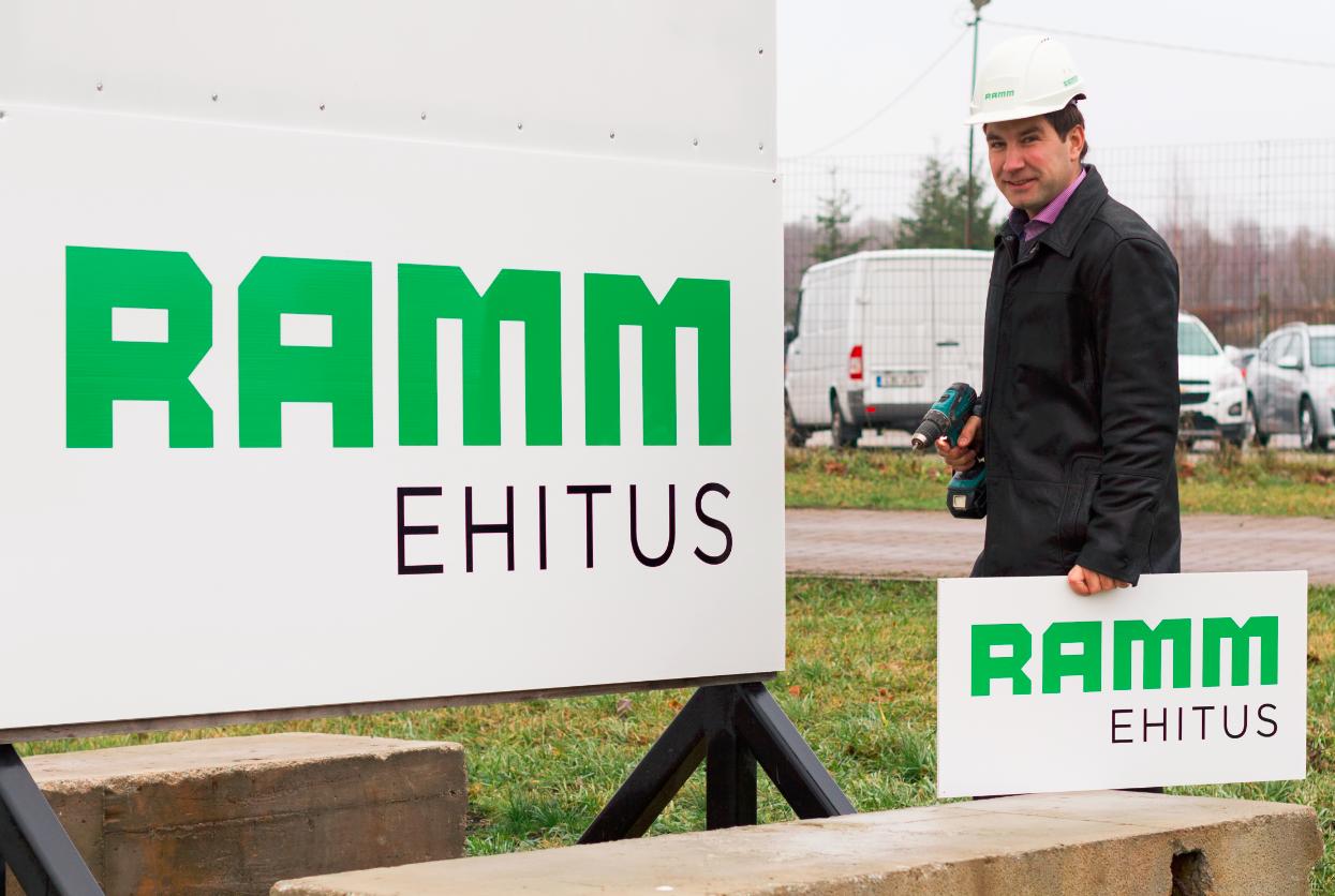 Pressiteade: RAMM Ehituse juht Priit Raud: 2015 ehitusaastat iseloomustas erasektori ehitusmahu kasv
