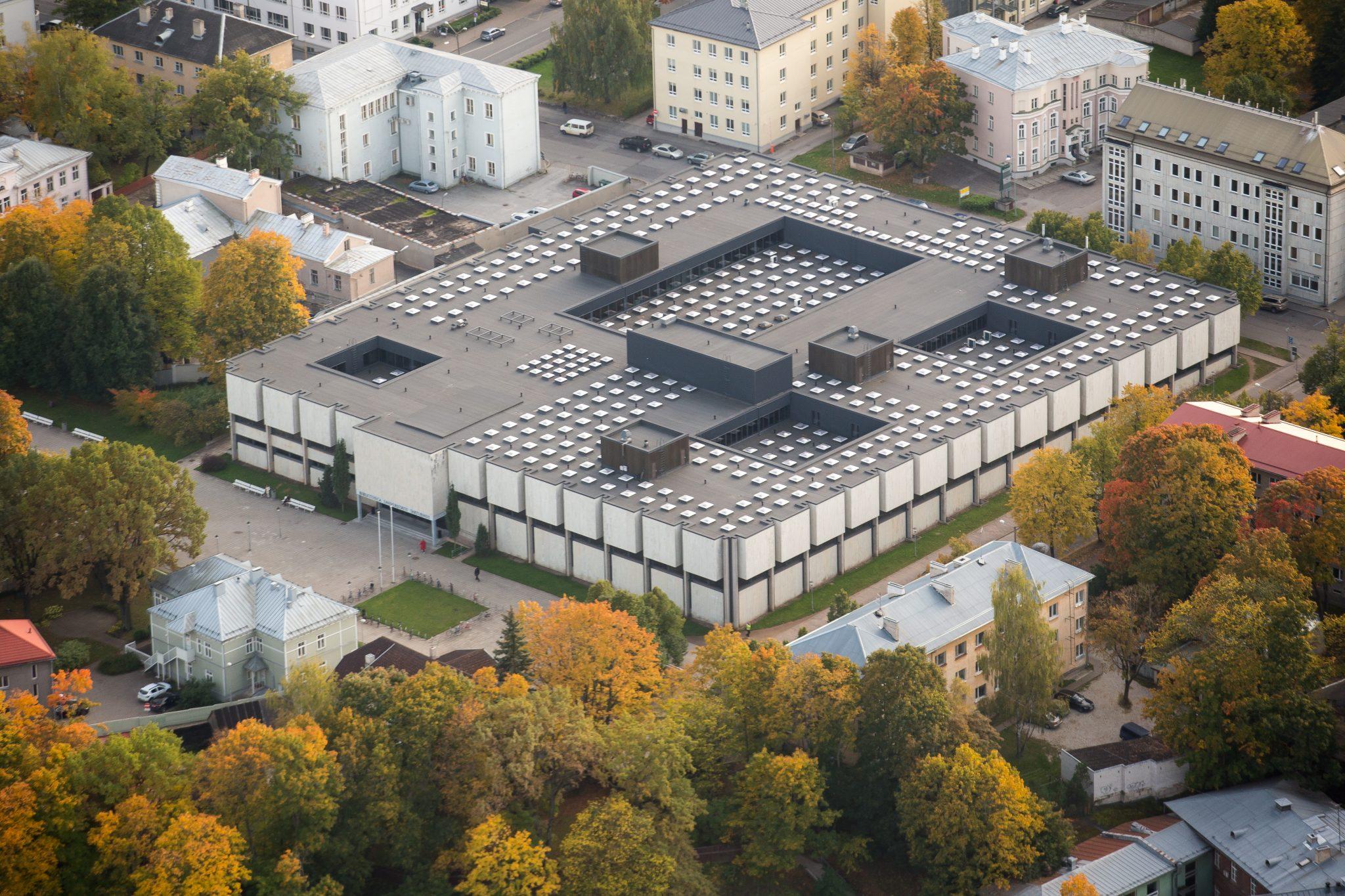 Pressiteade: Tartu ülikooli raamatukogus alustatakse rekonstrueerimistöödega
