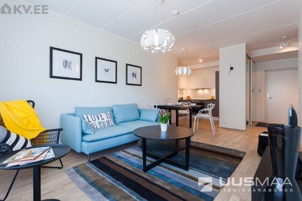 Uued väikesed kolmetoalised korterid koguvad populaarsust