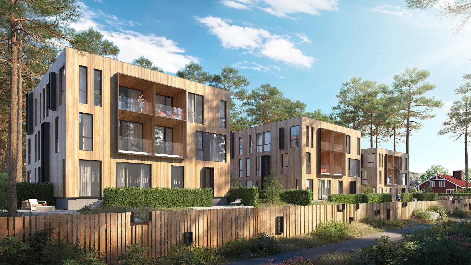 Pressiteade: Nõmmele ehitatakse kõrgete lagedega kortermaja