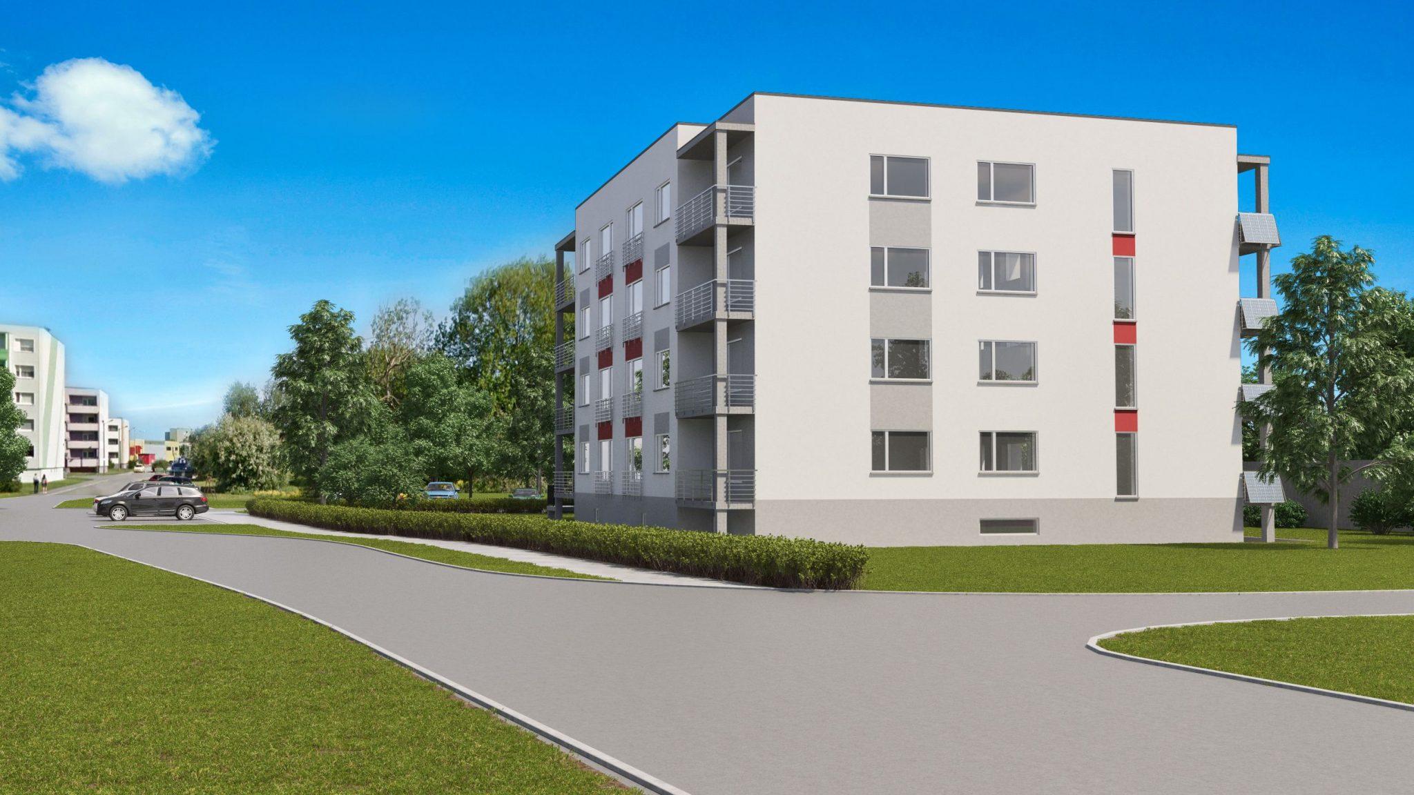 PRESSITEADE: Enne ehitustööde algust on broneeritud 50% Päikeseelamu korteritest