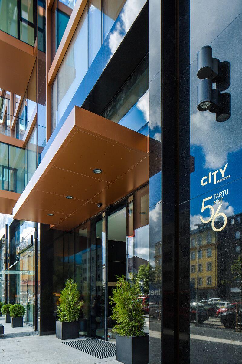 Pressiteade: Uus portjeega luksusmaja City Residence toob Tallinna südalinna metropoli hõngu