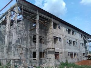 ehitusjärgus maja