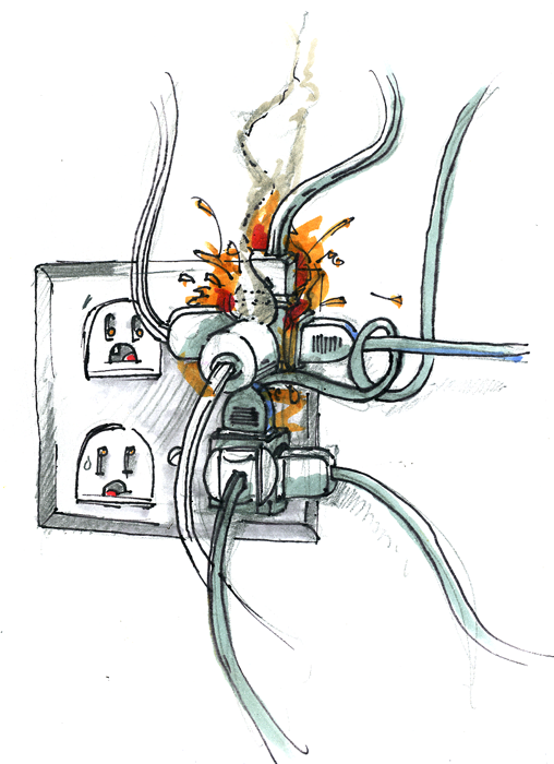 Elektriseadmed põhjustavad tulekahjusid, kuidas neid ära hoida?