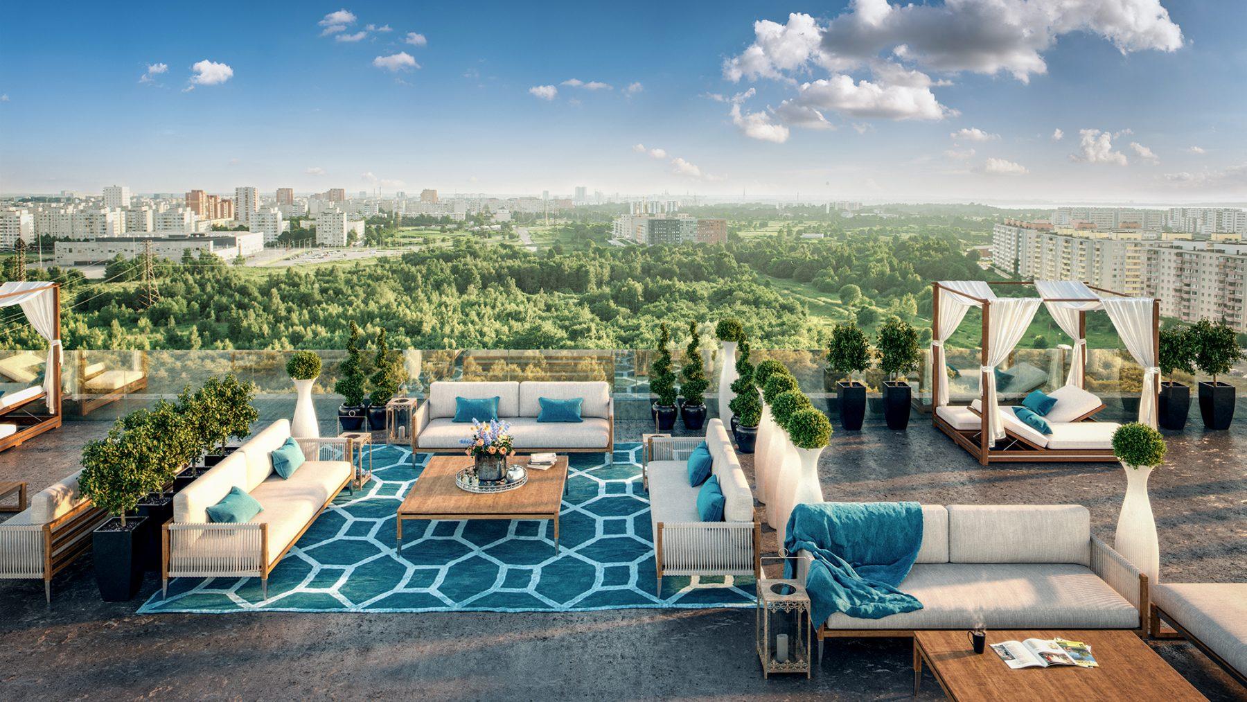 Pressiteade: Endover Kinnisvara ehitab Lasnamäele 300 korteriga linnaku mõõtu elamu