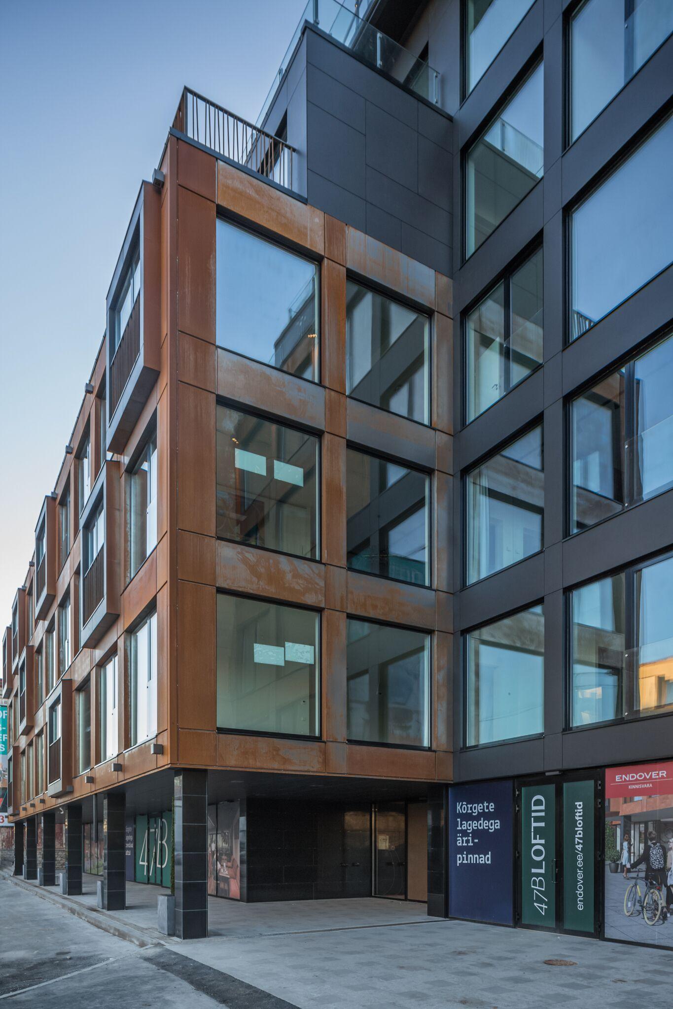 Pressiteade: Endover Kinnisvara avas uuenevas Volta kvartalis industriaalse arhitektuuriga eluhoone 47B Loftid
