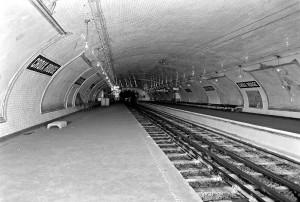 maha jäetud metroojaam