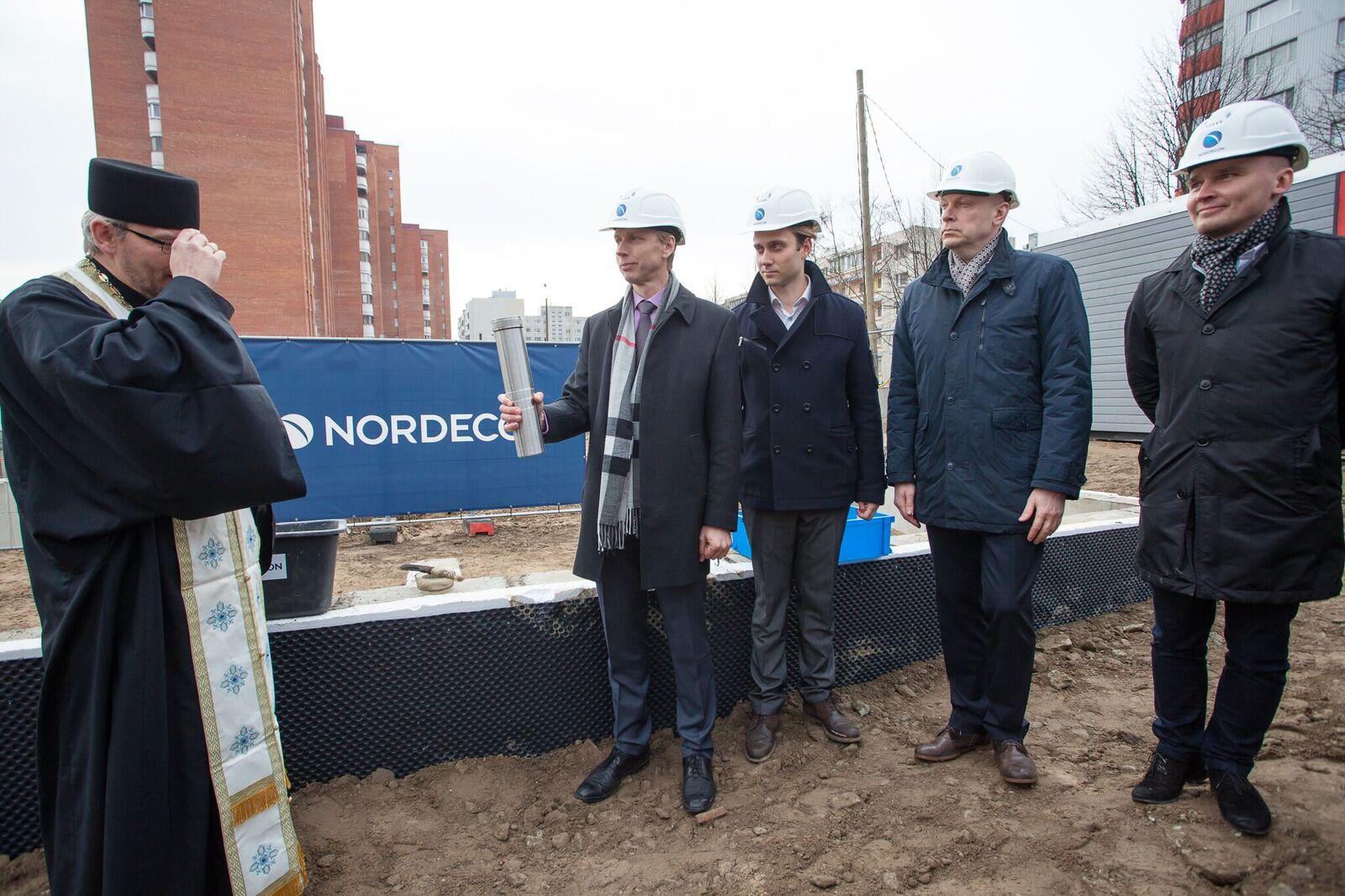 Pressiteade: Ülimenukas Lasnamäe uusarendus Central Residence sai nurgakivi (lisatud galerii)