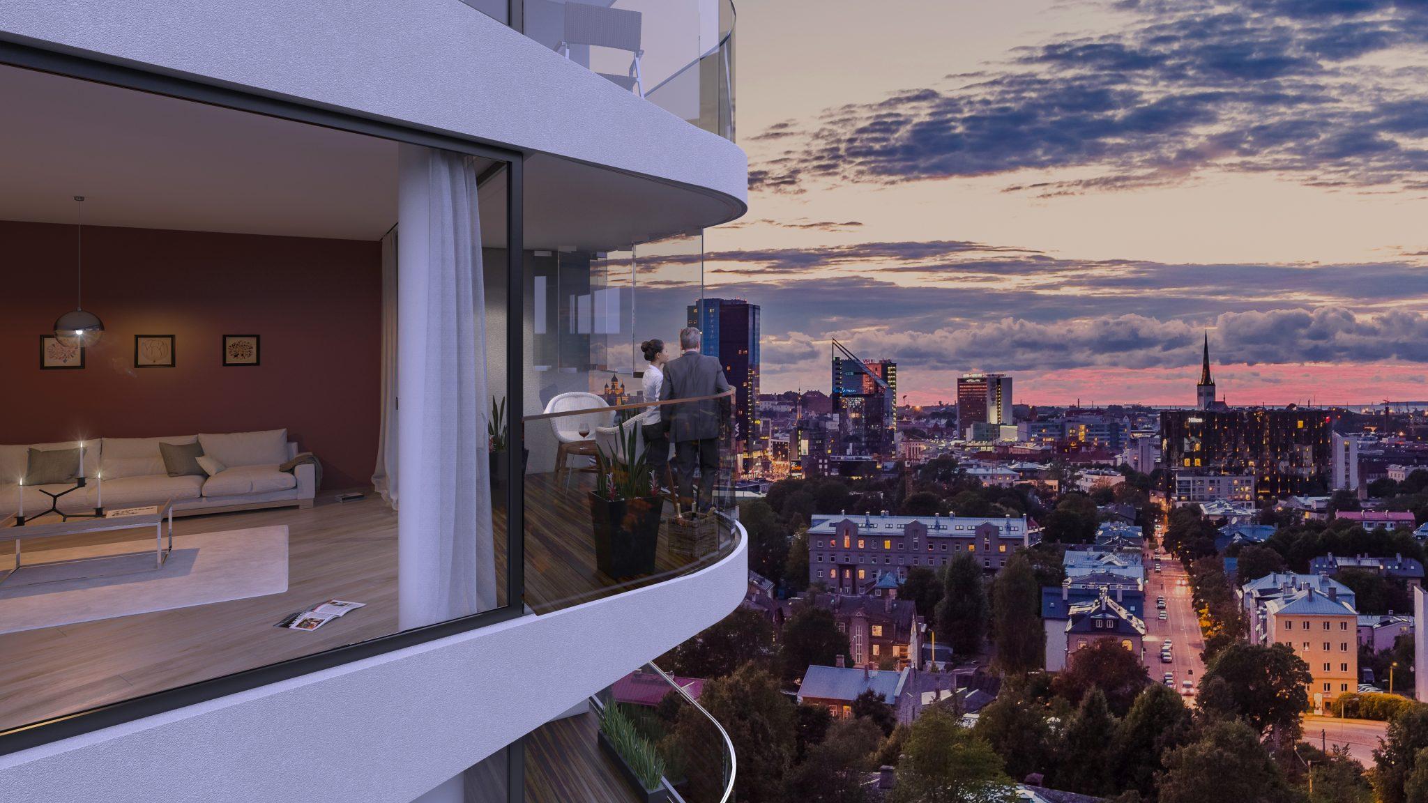 Urmas Sõõrumaa arendusfirma rajab Kadrioru veerde kolm tornelamut