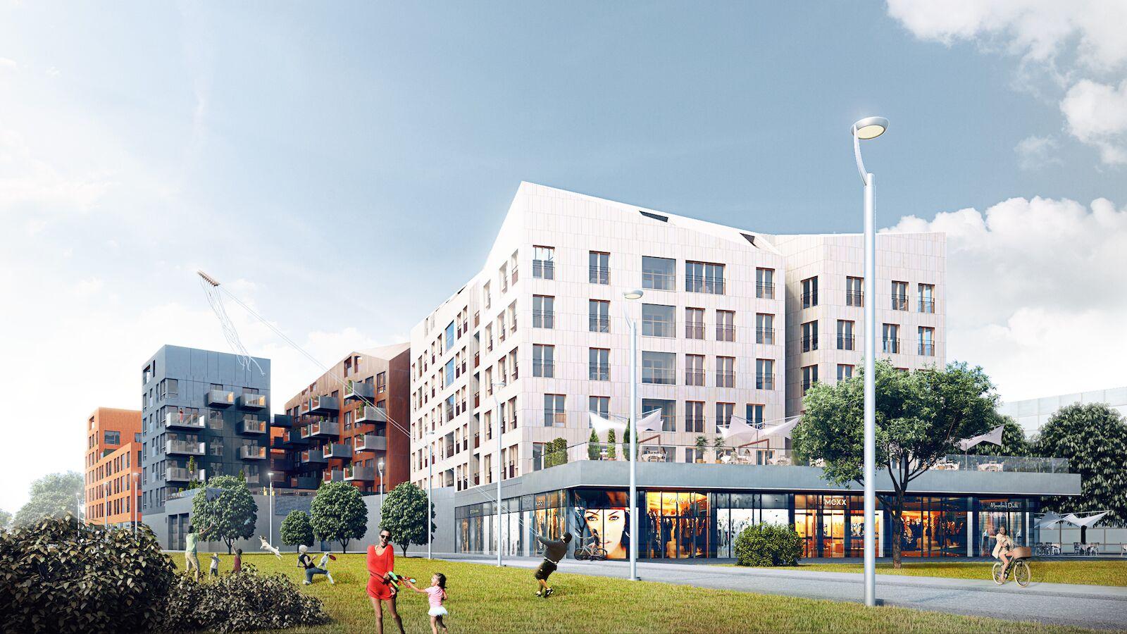 Pressiteade: Promenaadi majas valmis uue linnasüdame esimene korter