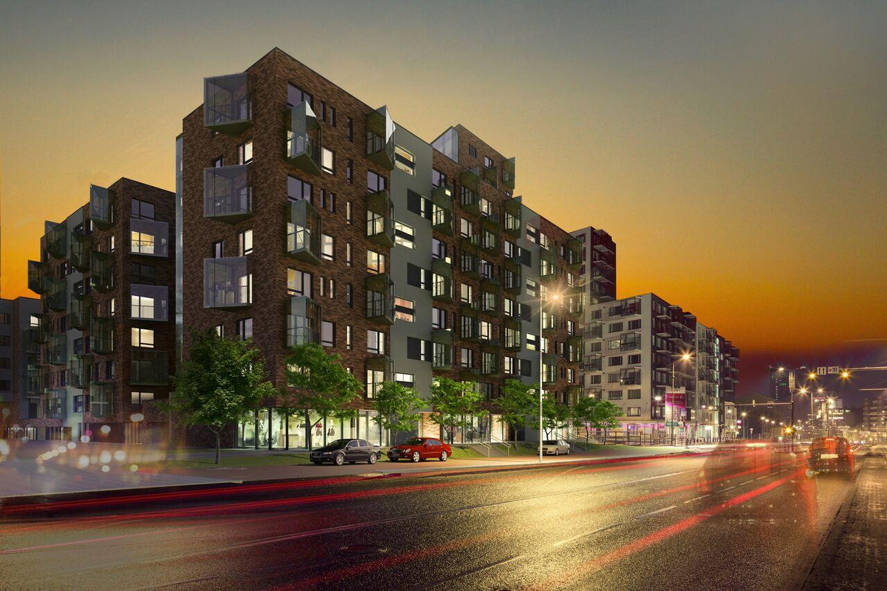 Pressiteade: Merko käivitas Tartu mnt 52 elamukvartali teise etapi ehituse ja müügi