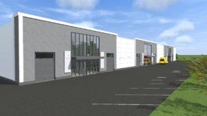 Pressiteade: Uus Maa Kinnisvarabüroo alustas koostöös Maru Ehitusega uute stock-office tüüpi äripindade pakkumist Rae vallas Mõigu Tehnopargis, aadressil Treiali tee 1 ja 3.